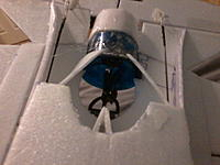 F-35A Fan and intake buffer's